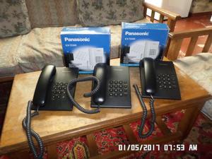 telefonos panasonic en excelente estado a buen precio
