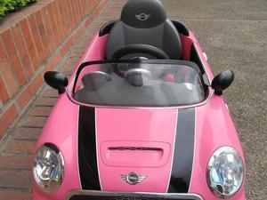 Carro de Juguete Mini Cooper Manual