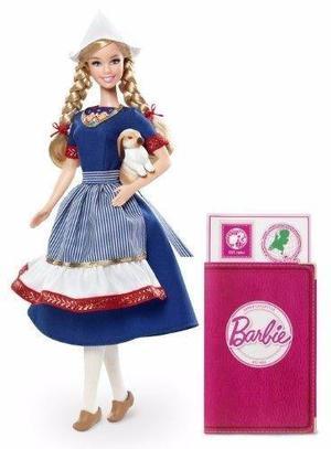 Colección Mundial Barbie Muñeca Holandesa Envio Gratis