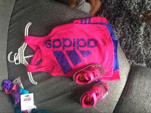 Conjunto Adidas Y Tenis