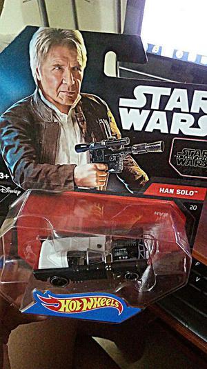 Hot Wheels Coleccionables Star Wars Han Solo y Dc Comics