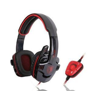 Sades® Sades Profesional Juegos De Pc Usb Auricular Con Mic