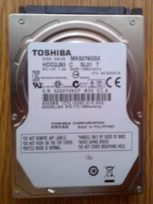Toshiba 500gb HDD 2.5 Sata