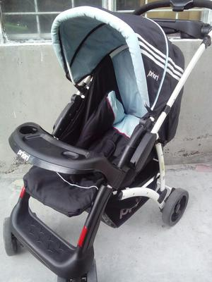 Vendo Coche Y Porta Bebé