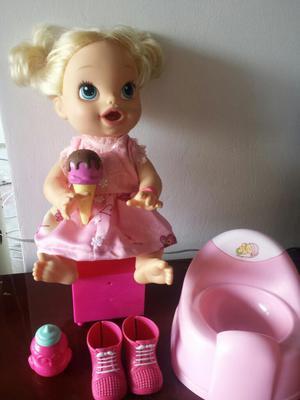 Vendo Linda Muñeca Baby Alive Habla Y Or