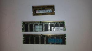 memorias ram DDR3 Y DDR1VENDO O CAMBIO