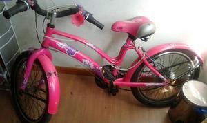 Bicicleta Para Niña. Como Nueva. Con Cambios