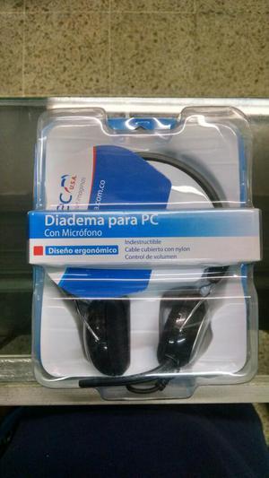 Audífonos Diadema con Micrófono para Juegos