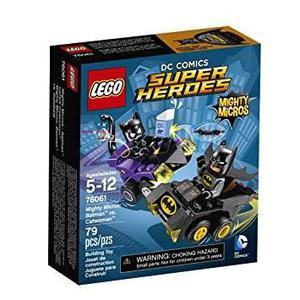 Juguete Lego Super Heroes Mighty Micros Batman Vs Catwoman