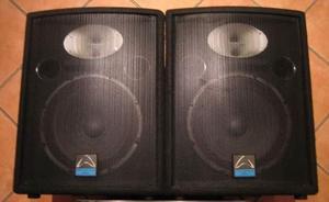 cabinas de sonido profesional whaferdale 12'' y amplificador