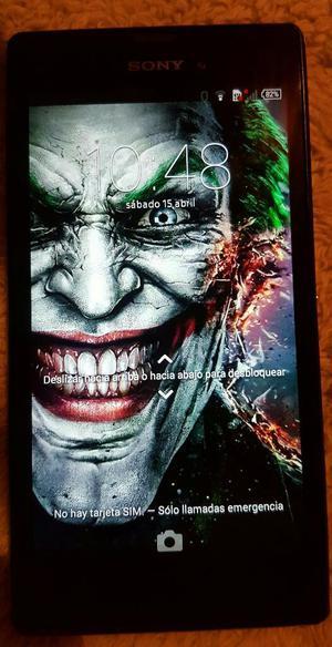 Gangaaaa Sony Xperia T3 Negro Ecxelente