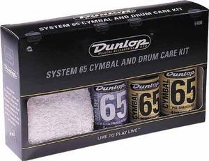 Kit Mantenimiento Jim Dunlop  Para Bateria Y Platillos