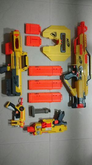 Full Pack Armamento Nerf Clasico