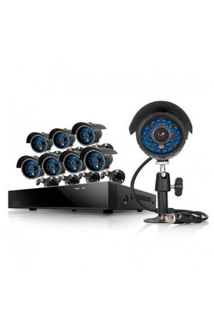 Kit 8 Camaras De Video Y Sus Accesorios Modelo: C156