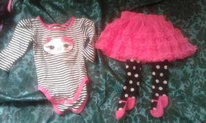 Vendo lote de ropa  meses niñas