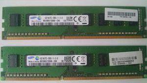 Memoria Ram 4 Gb Samsung Pc. Negociable..