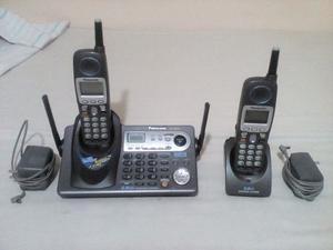 Telefono Inalambrico Panasonic Kxtg Ghz Dual 2 Linea
