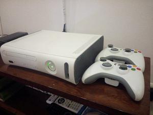 Xbox 360 Placa Jasper Dd 20gb 2 Controles 5 Juegos Originale