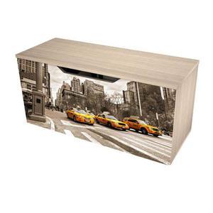 Baúl Print New York Practimac 40x80x31 Cm