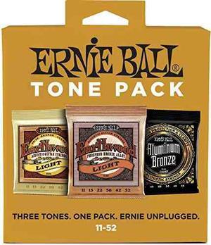 Ernie Ball  Paquete De Tono De Cuerda De Guitarra