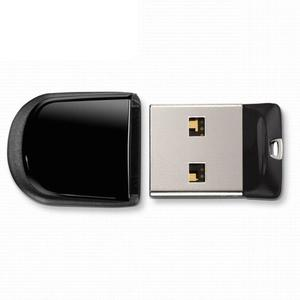 Memoria Usb 2.0 Mini 8gb - Color Negro