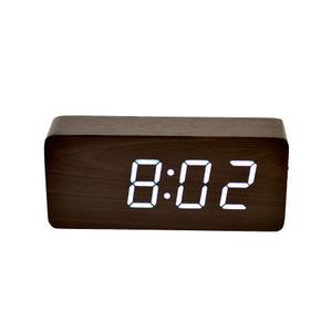 Reloj Led Madera