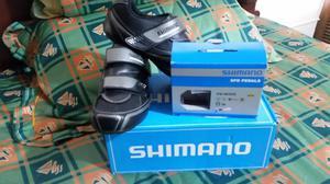 Zapatillas Shimano Y Choclos