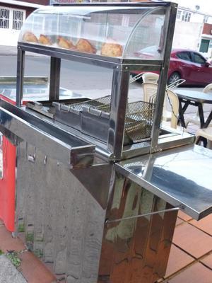 Bbq plancha estufas freidor exhibidor usados posot class for Estufas industriales cali