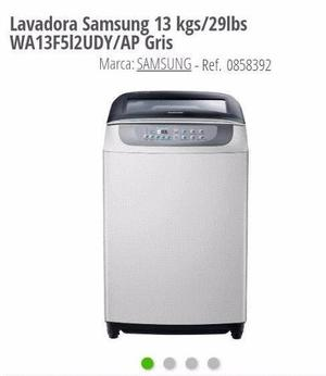 Lavadora Samsung 13 Kgs / 29 Lbs Wa13f512udy/apgris