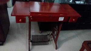 Maquina de coser singer cachaca con mueble barata posot - Mueble para maquina de coser ...