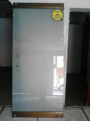 Vendo puerta en vidrio templado posot class for Puerta cristal templado