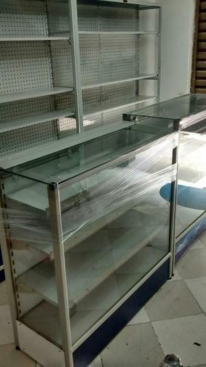 Venta de Vitrinas en Aluminio $
