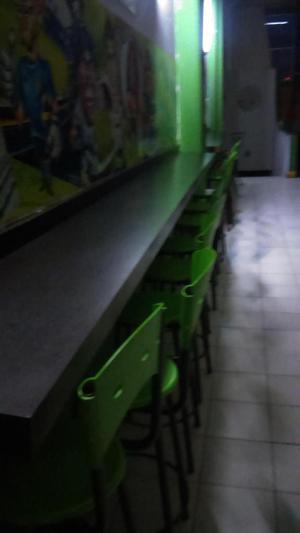 sillas barra