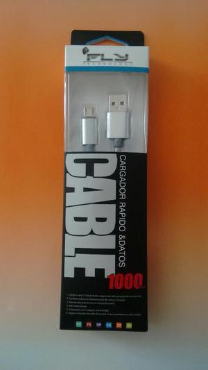 Cable Usb Megaresistente Y Carga Rápida