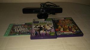 Kinet Xbox 360 con Dos Juegos Originales