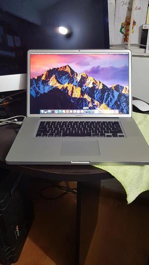 Macbook Pro 17pulgadas, I7core, 16gb Ram