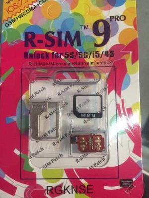R Sim 9 Iphone 4s 5 Atyt T Mobile Bell Fido Etc. Mas Envio