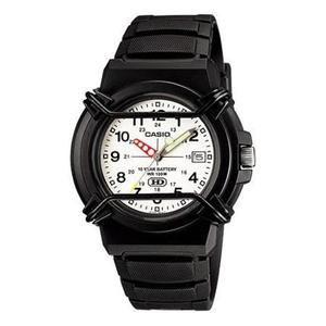 Reloj Casio Para Hombre Negro/blanco Hda-600b-7bv