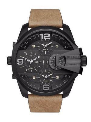 Reloj Diesel Mega Chief Cronógrafo Cuero Hombre Dz