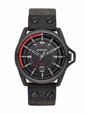 Reloj Diesel Rollcage Cuero Hombre 46mm Dz