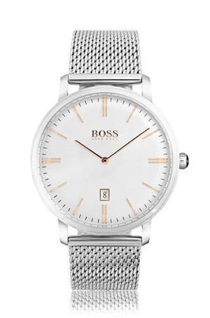 Reloj Hugo Boss  Acero Plateado Hombre