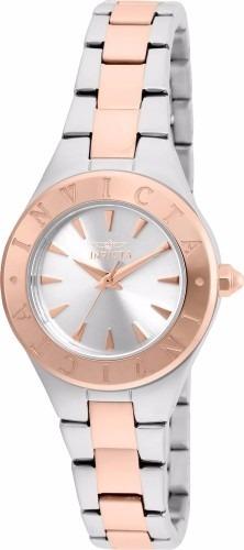Reloj Invicta  Mujer Plateado/oro Rosa