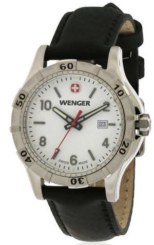 Reloj Negro Wenger Para Mujeres
