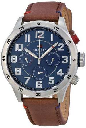 Reloj Para Hombre Tommy Hilfiger Banda En Cuero Con