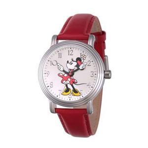 Reloj Rojo Disney Para Mujeres W