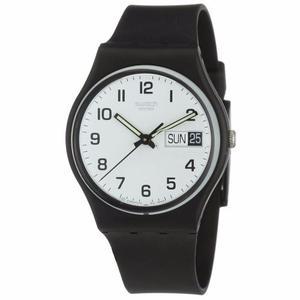 Reloj Swatch Gb743 Silicon Negro Unisex