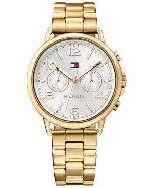 Reloj Tommy Hilfiger  Acero Dorado Mujer