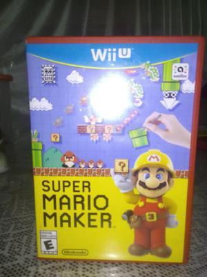 Super Mario Maker Wii U poco uso.
