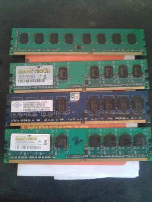 vendo memorias RAM ddr2 y ddr3