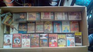 Gran colección de casetes clásicos de grandes exitos